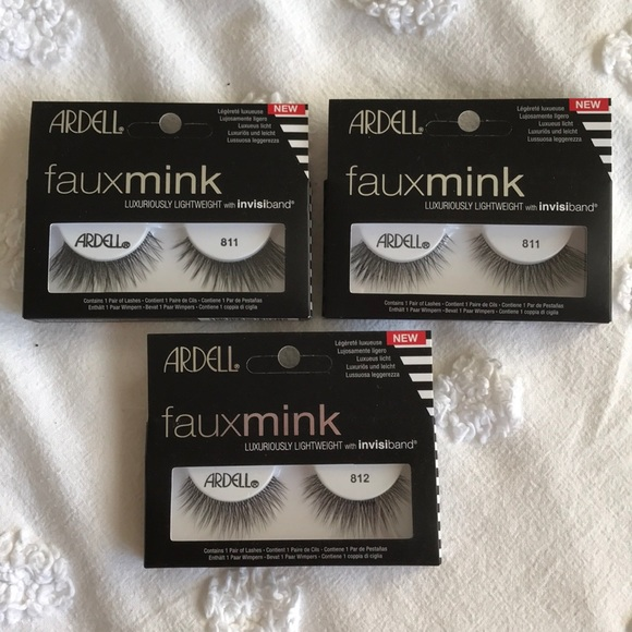 a67c08d0e95 Ardell Makeup | Nwt 811 And 812 Faux Mink Lashes | Poshmark